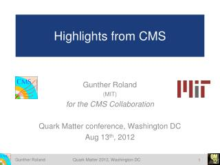 Highlights from CMS