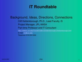 IT Roundtable