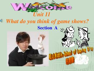 Unit 11 What do you think of game shows?