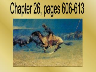 Chapter 26, pages 606-613