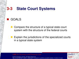 3-3 State Court Systems