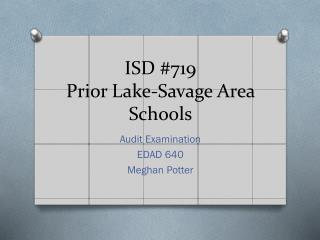 ISD #719 Prior Lake-Savage Area Schools