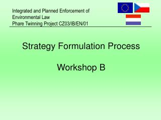 Strategy Formulation Process Workshop B
