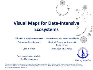 Visual  Maps  for Data-Intensive  Ecosystems