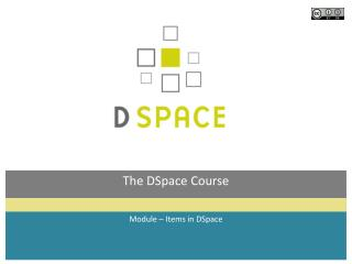 The DSpace Course