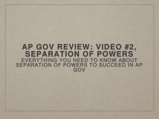 The Purposes of Government - review