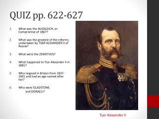 QUIZ pp. 622-627