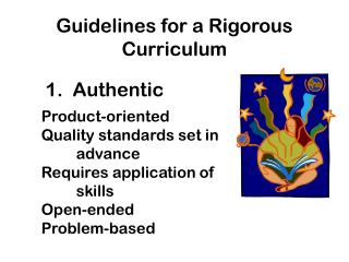 Guidelines for a Rigorous Curriculum