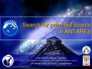 Search for point-like source in ANTARES