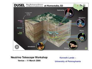 Neutrino Telescope Workshop Venice – 11 March 2009