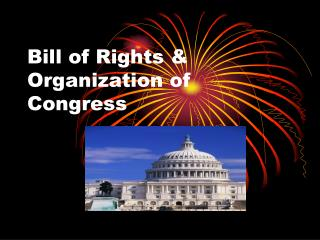 Bill of Rights & Organization of Congress