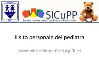 Il sito personale del pediatra