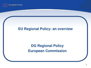 EU Regional Policy: an overview