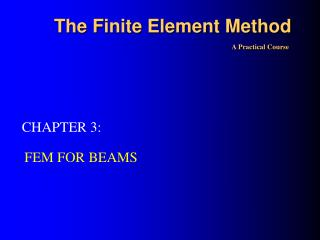 The F inite Element Method