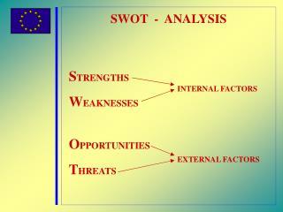 SWOT  -  ANALYSIS