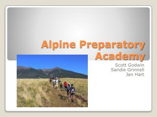 Alpine Preparatory Academy