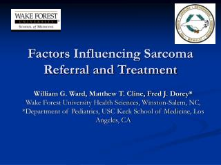 Factors Influencing Sarcoma Referral and Treatment