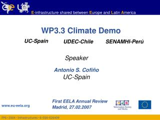 WP3.3 Climate Demo