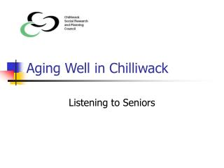 Aging Well in Chilliwack