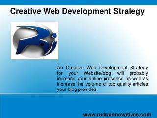 Creative Web Development Strategy