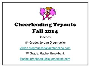 Cheerleading Tryouts  Fall 2014