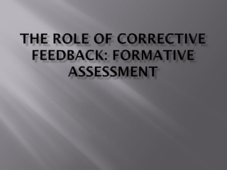 Focused Positive Writing Feedback to ESL Learners