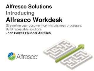 Alfresco streamlines business-critical document  processes loan origination insurance claims