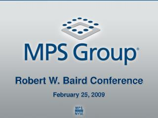 Robert W. Baird Conference