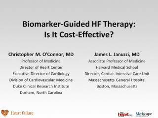 Biomarker-Guided HF Therapy: Is It Cost-Effective?