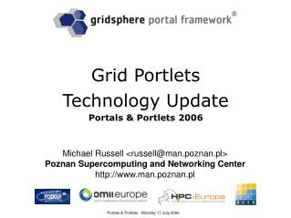 Grid Portlets Technology Update