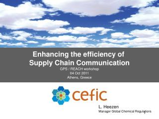 Enhancing the efficiency of  Supply Chain Communication GPS