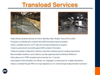 Yard Management for Inbound Deliveries