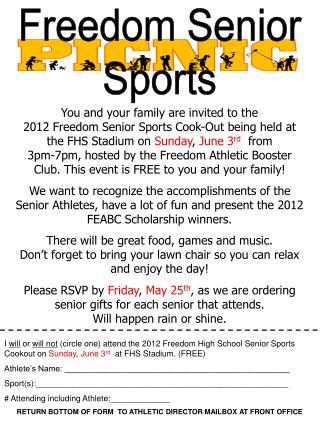 Freedom Senior Sports
