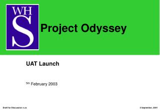 UAT Launch