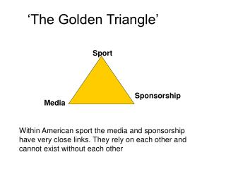 'The Golden Triangle'