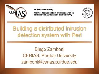 Building a distributed intrusion detection system with Perl