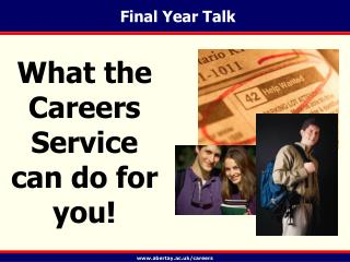 Final Year Talk