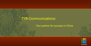 TYA Communications: