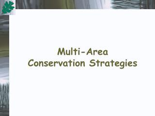 Multi-Area  Conservation Strategies