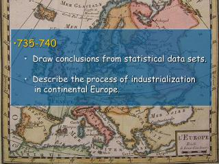 735-740   Draw conclusions from statistical data sets.
