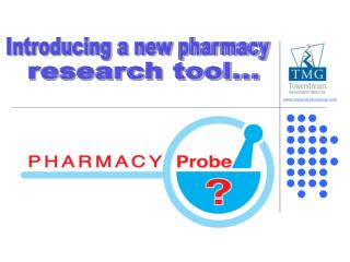 Introducing a new pharmacy