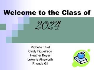 Welcome to the Class of 2024