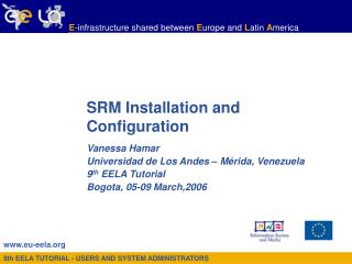 SRM Installation and Configuration