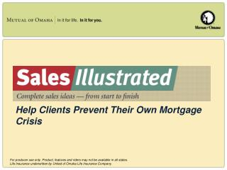 Help Clients Prevent Their Own Mortgage Crisis