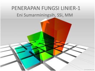 PENERAPAN FUNGSI LINIER-1
