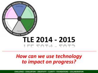 TLE 2014 - 2015