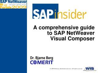 A comprehensive guide to SAP NetWeaver Visual Composer