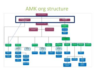 AMK org structure