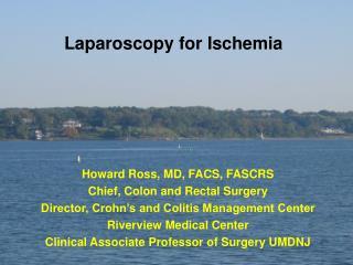 Laparoscopy for Ischemia