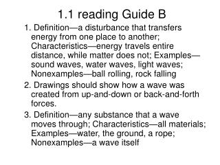 1.1 reading Guide B